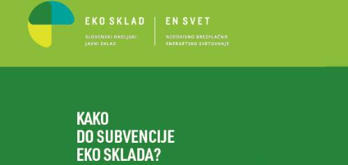 Izkoristite subvencije Eko sklada