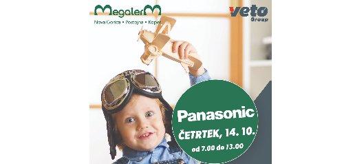 Trgovina Megaterm Postojna vas 14. oktobra vabi na predstavitev programov PANASONIC in DANFOSS