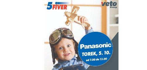 Trgovina 5Fiver vas 5. oktobra vabi na predstavitev PANASONIC