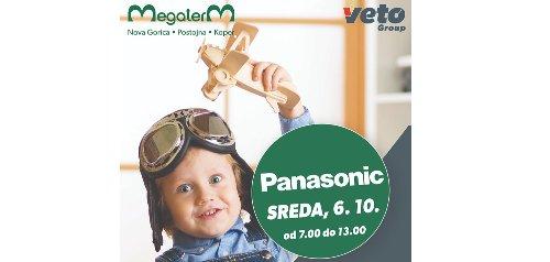 Trgovina Megaterm v Novi Gorici vas 6. oktobra vabi na predstavitev PANASONIC