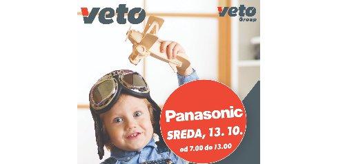 Trgovina Veto vas 13. oktobra vabi na predstavitev PANASONIC