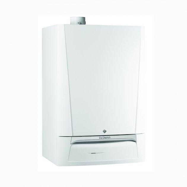 DE DIETRICH plinska peč z vgrajenim 40 litrskim grelnikom sanitarne vode Evodens