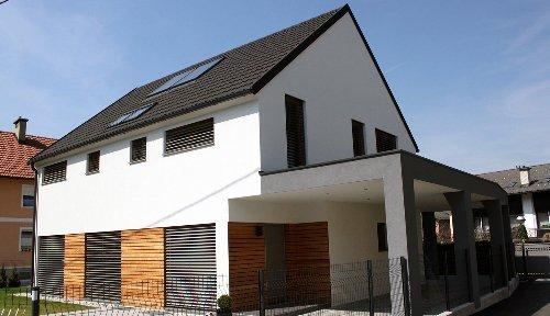 Nizkoenergijska hiša v Ljubljani